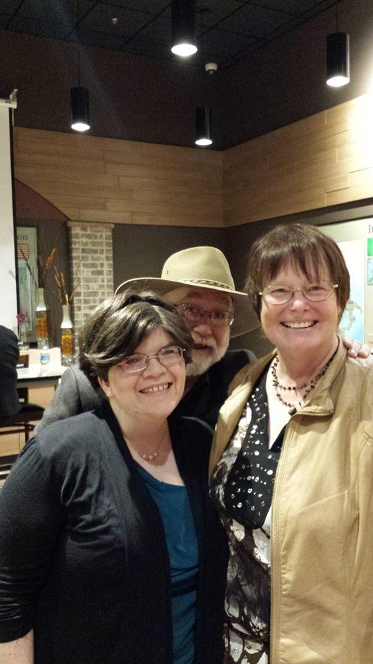 Hannah Kris and Dave at FORUM Feb 23 2015